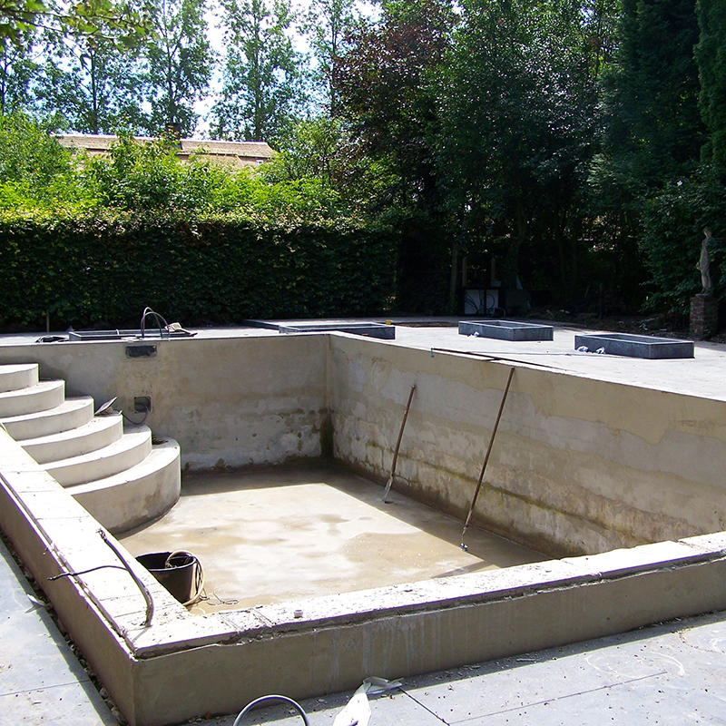 Qualitas exsto ontwerp advies buro renovatie for Renovatie zwembad
