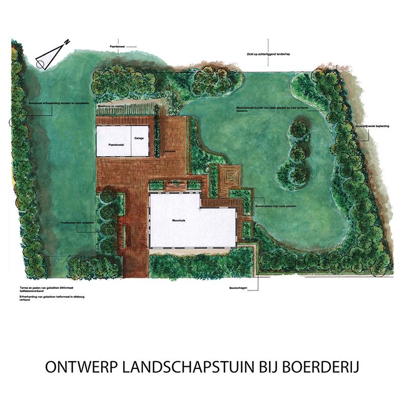 Qualitas exsto ontwerp advies buro tuinontwerp for Tuinontwerp veghel