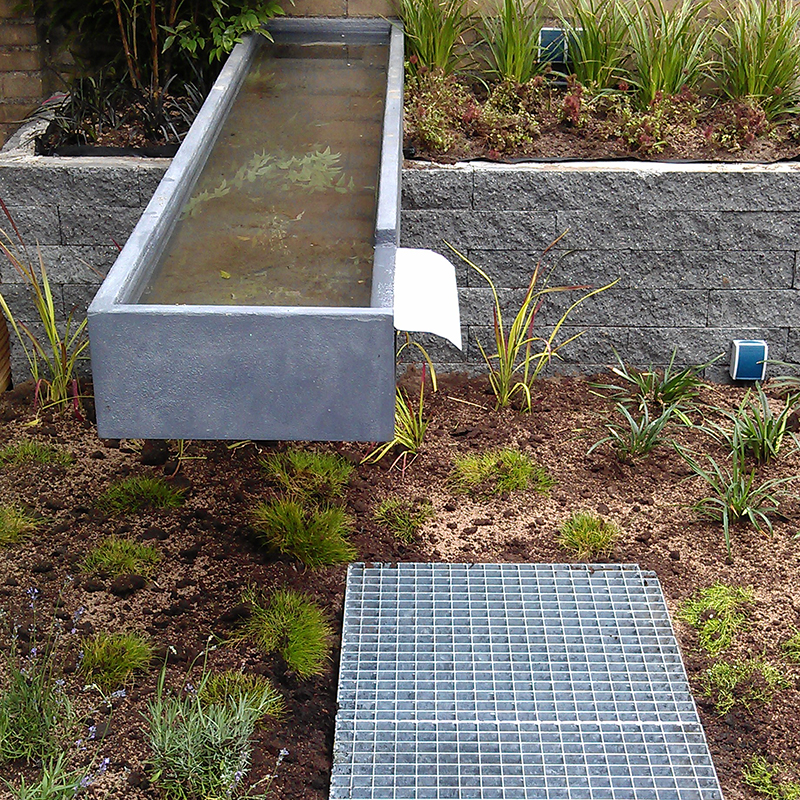 Qualitas exsto ontwerp advies buro vijvers for Moderne waterpartijen tuin
